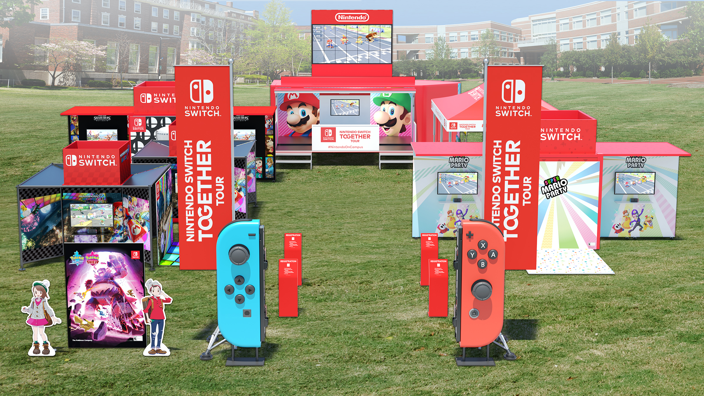 Nintendo is Bringing the Nintendo Switch to College Campuses